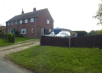 Thumbnail 3 bed semi-detached house for sale in Long Lane, Ingham Corner, Norwich