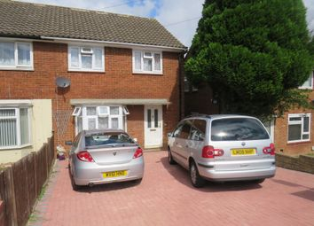 Thumbnail 3 bedroom semi-detached house for sale in Hockwell Ring, Luton