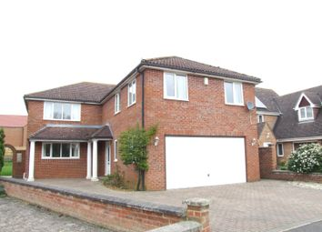 Thumbnail 5 bedroom detached house to rent in Friars Close, Shrivenham, Swindon