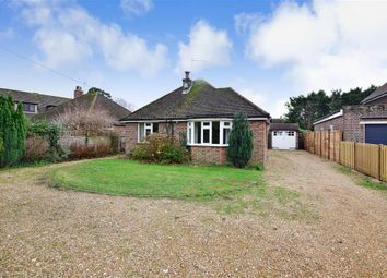 Thumbnail 3 bed detached bungalow for sale in Barnham Road, Eastergate, West Sussex