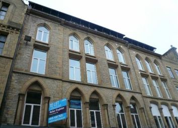 Thumbnail 2 bed flat to rent in Crown Street, Halifax