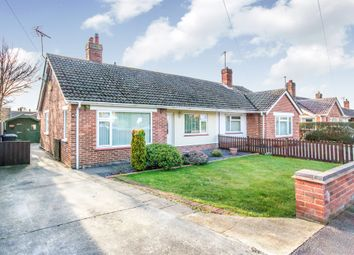 Thumbnail 2 bed semi-detached bungalow for sale in Winston Avenue, Lowestoft