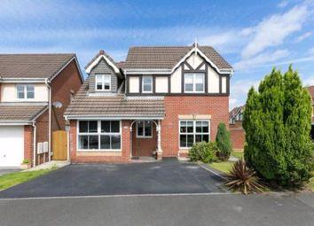 Thumbnail 4 bed detached house for sale in Heathland, Upholland, Skelmersdale