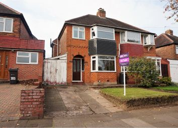 Thumbnail 3 bedroom semi-detached house for sale in Clay Lane, Birmingham