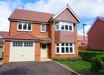 Thumbnail 4 bed detached house for sale in Pinkney Road, Swindon