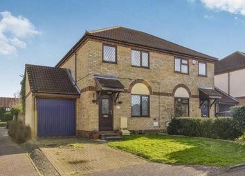 Thumbnail 3 bed semi-detached house for sale in Groundsel Close, Walnut Tree, Milton Keynes, Buckinghamshire