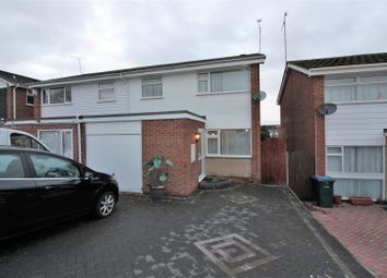 Thumbnail 3 bed semi-detached house for sale in John Mcguire Crescent, Binley, Coventry