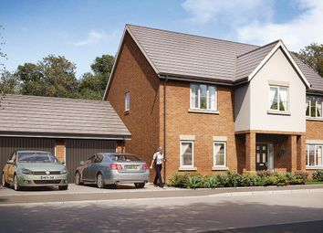 "Thumbnail 5 bed detached house for sale in ""The Hexham"" at Burton Street, Market Harborough"