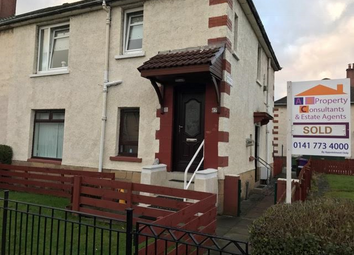 Thumbnail 2 bed flat for sale in Troon Street, Dalmarnock