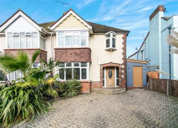 Thumbnail 3 bed semi-detached house to rent in Carnarvon Road, Clacton-On-Sea