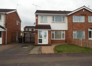 Thumbnail 3 bed semi-detached house for sale in Garth Crescent, Binley, Coventry, West Midlands