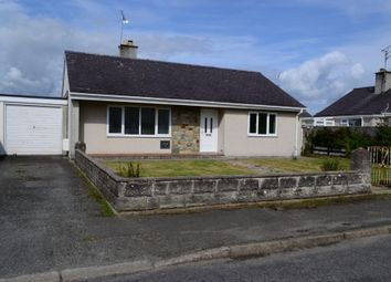 Thumbnail 2 bed detached bungalow for sale in Lon Ceredigion, Pwllheli, North Wales