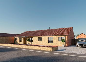Thumbnail 3 bed detached bungalow for sale in Hillside, Snitterby, Gainsborough