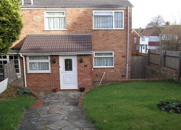 Thumbnail 3 bedroom terraced house for sale in Admirals Walk, Lordswood, Chatham