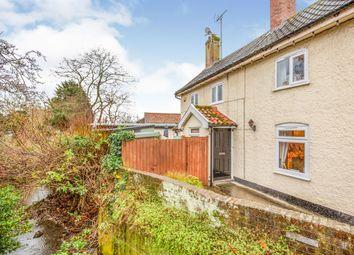 Thumbnail 3 bed cottage for sale in Albert Place, Framlingham, Woodbridge