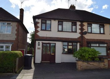 Thumbnail 3 bed semi-detached house to rent in St Marys Avenue, Off Cardinal Walk, Leicester