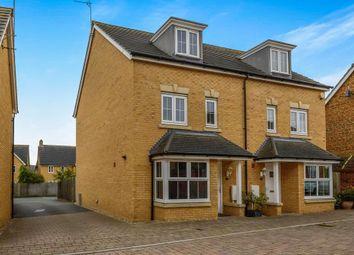 Thumbnail 4 bedroom semi-detached house to rent in Gomez Close, Oxley Park, Milton Keynes