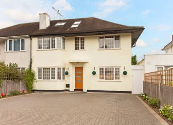 Thumbnail 4 bedroom semi-detached house for sale in Robin Hood Lane, Kingston Vale, London