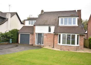 Thumbnail 4 bed detached house for sale in High Ash Drive, Alwoodley, Leeds