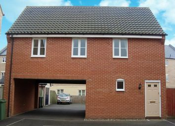 Thumbnail 1 bed property to rent in Blackthorn Road, Wymondham, Norfolk