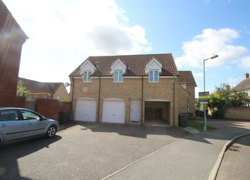 Thumbnail 2 bedroom maisonette for sale in Fieldfare Close, Stowmarket