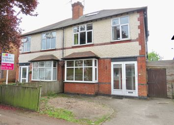 Thumbnail 3 bed semi-detached house for sale in Rutland Road, West Bridgford, Nottingham