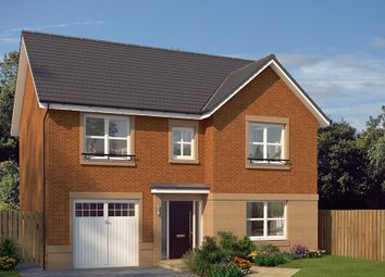 "Thumbnail 4 bed detached house for sale in ""The Norbury"" at Edinburgh Road, Newhouse, Motherwell"