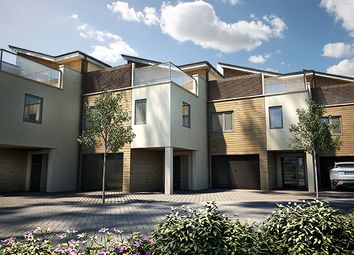 "Thumbnail 4 bedroom terraced house for sale in ""The Lembury"" at St. Peters Quay, Totnes"