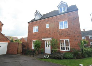 Thumbnail 4 bed town house for sale in Broadbent Close, Lichfield
