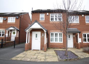 Thumbnail 2 bed semi-detached house for sale in Rosa Court, Baghill, Pontefract