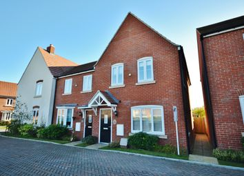 Thumbnail 3 bed end terrace house for sale in Kiln Crescent, Chilton, Didcot