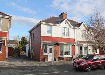 Thumbnail 3 bed semi-detached house for sale in Myrddin Crescent, Carmarthen, Carmarthenshire