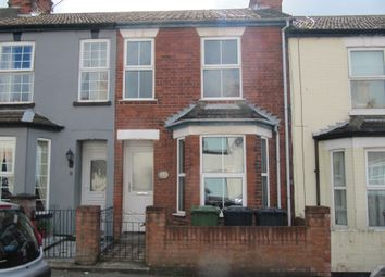 Thumbnail 3 bed terraced house for sale in Avenue Road, Gorleston, Great Yarmouth