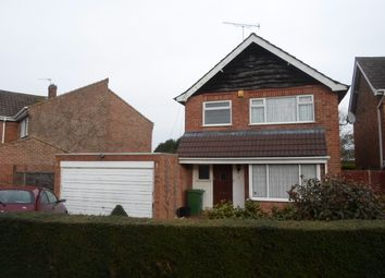 Thumbnail 4 bed detached house to rent in Half Moon Crescent, Oadby