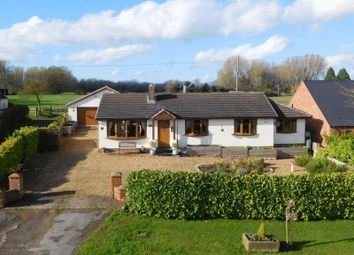 Thumbnail 4 bed bungalow for sale in Audlem Road, Hankelow, Crewe
