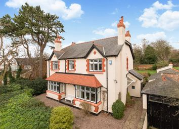 Thumbnail 5 bed detached house for sale in Telegraph Road, Heswall, Wirral