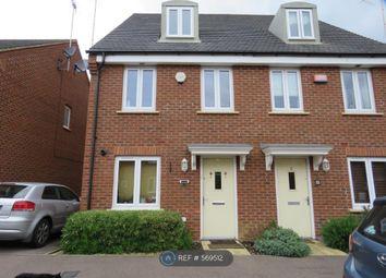 Thumbnail 3 bedroom semi-detached house to rent in Dewsbury, Oakridge Park, Milton Keynes