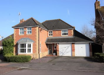 Thumbnail 4 bed detached house for sale in Ashdown Way, Swindon