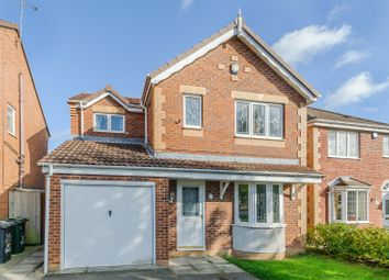 Thumbnail 3 bed detached house for sale in Newfield Close, Barnby Dun, Doncaster