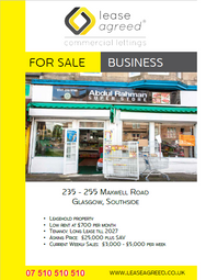 Thumbnail Retail premises to let in Maxwell Drive, Glasgow