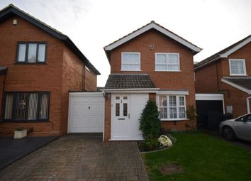 Thumbnail 3 bed detached house for sale in Tattersall Close, Parklands, Northampton