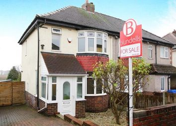 Thumbnail 3 bed semi-detached house for sale in Moorland View, Sheffield, South Yorkshire