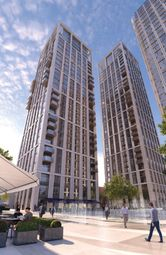 Thumbnail 1 bed flat for sale in Southbank Place, London
