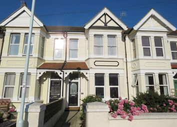 Thumbnail 2 bed flat for sale in Navarino Road, Worthing