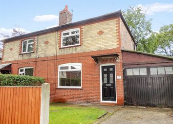 Thumbnail 2 bed semi-detached house for sale in Heys Avenue, Romiley, Stockport