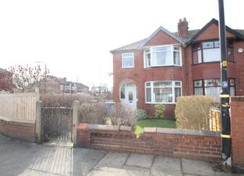 Thumbnail 3 bedroom semi-detached house for sale in Derbyshire Lane West, Stretford, Manchester