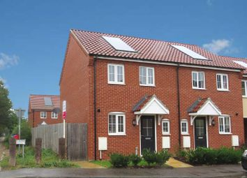 Thumbnail 2 bed semi-detached house to rent in Jeckyll Road, Wymondham