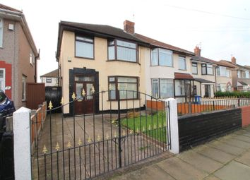 Thumbnail 3 bed semi-detached house for sale in Wensley Rd, Orrell Park