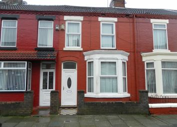 Thumbnail 3 bed terraced house to rent in Elmdale Road, Walton Vale, Liverpool, Merseyside