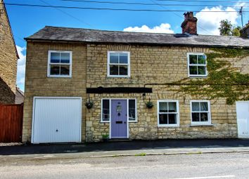Thumbnail 4 bed cottage for sale in King Street, West Deeping, Peterborough